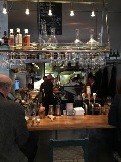 Bar at Rolfs Kok, Stockholm, Sweden