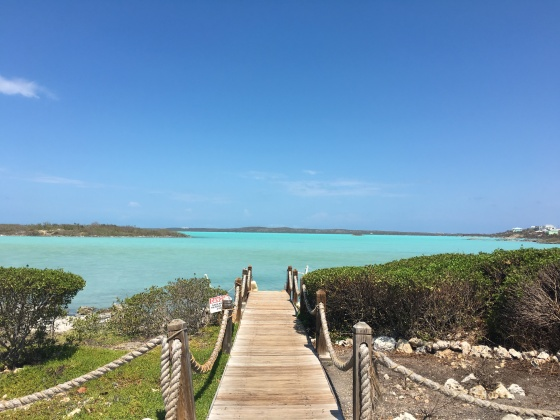 Dock at Neptune Villas Chalk Sound Providenciales Turks & Caicos