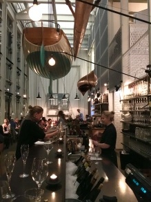 Dining room at Oaxen Slip in Stockholm