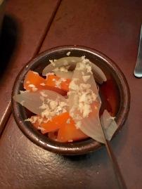 Oaxen Slip carrots Stockholm restaurant