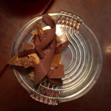 Chocolate dessert at Oaxen Slip