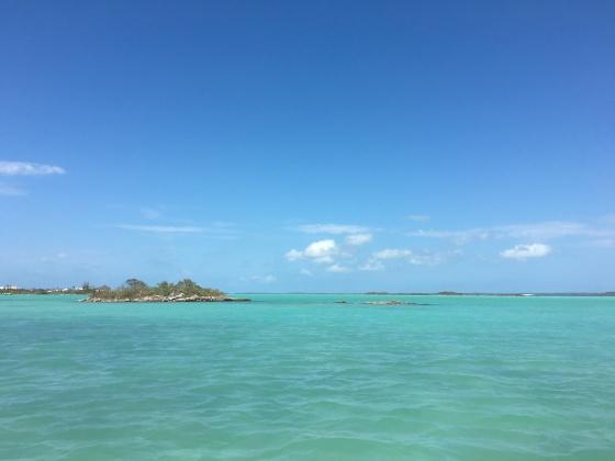 Chalk Sound in Providenciales Turks & Caicos Caribbean