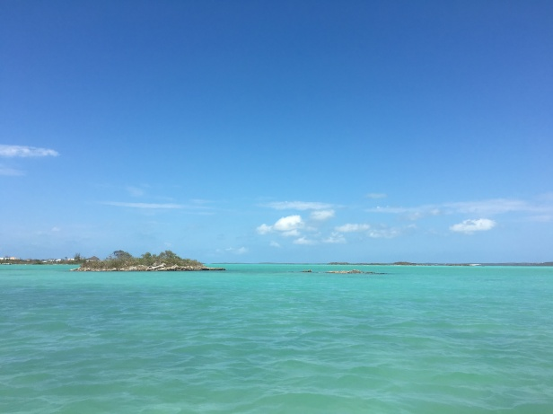 Chalk Sound in Providenciales Turks & Caicos Caribbean