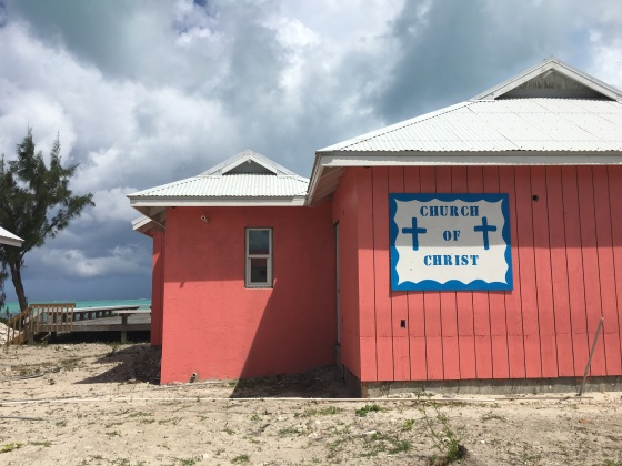 Church of Christ Blue Hills Road Providenciales Turks & Caicos Caribbean